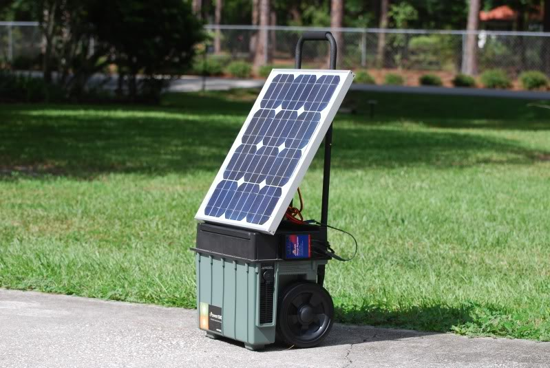 ... this cool DIY portable solar generator with XPower Powerpack project