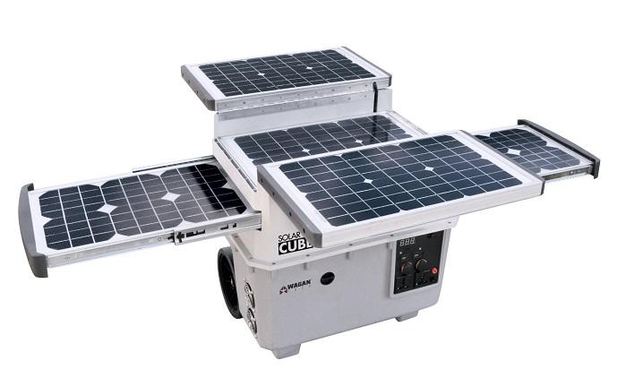 Wagan EL2546 Solar e Cube 1500 8