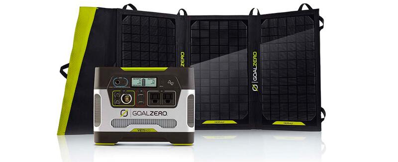 Goal Zero Yeti 400 Solar Generator Kit (1)