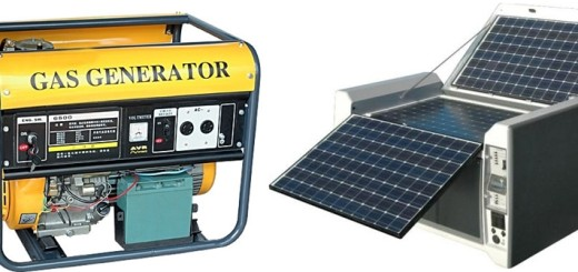 What Components Used to Build up a Portable Solar Generator