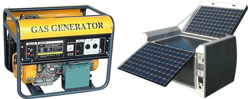 Solar generators vs diesel generators - Choosing a gasoline powered generator ...