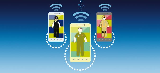 solar powered mobile network