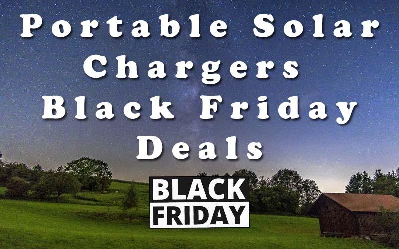 Portable Solar Charger Black Friday Deals