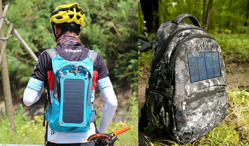 Solar Backpack Charger