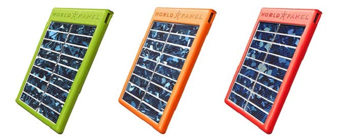 world panel solar charger