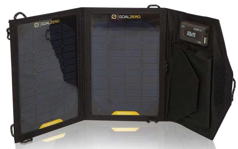 Goal-Zero-Nomad-7-Solar-Charger