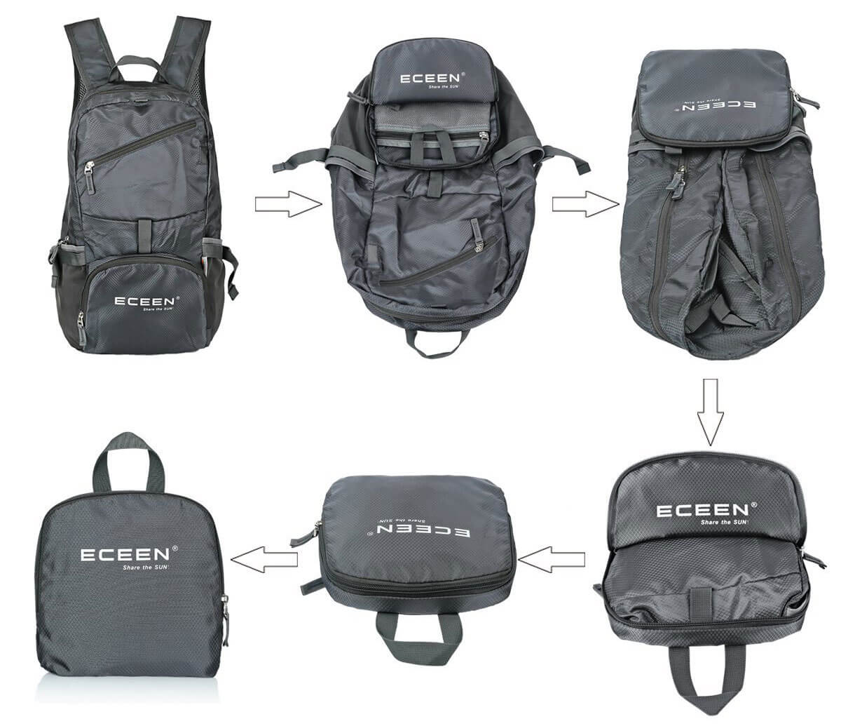 Solar Powered Hiking Backpack by Eceen Review