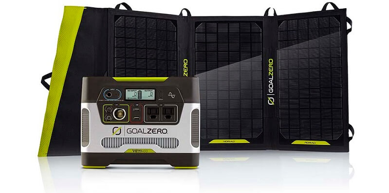 Goal Zero Yeti 400 Solar Generator Kit (2)