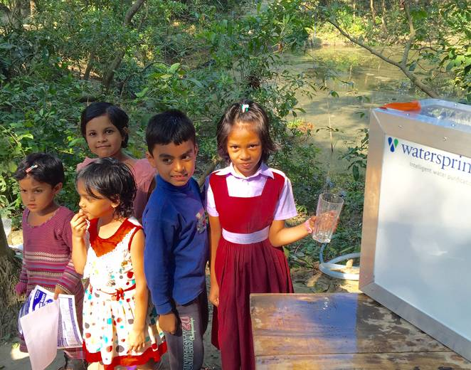 Portable Solar Powered Water Purification Systems