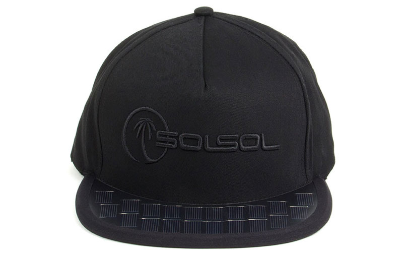 Solar Hat Phone Charger - Sol Sol Solar Hat 026df5dea741