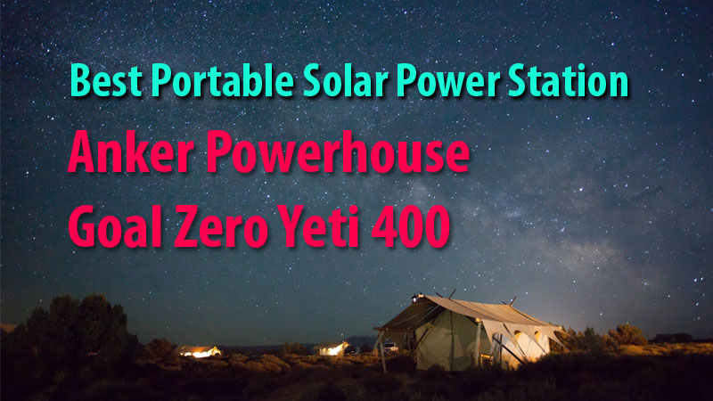 Anker PowerHouse Vs Goal Zero Yeti 400
