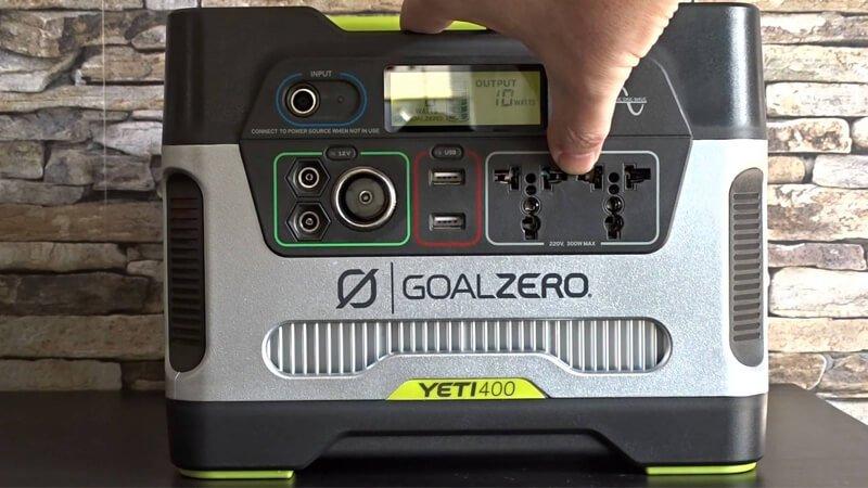 Anker PowerHouse Vs Goal Zero Yeti - Yeti 400