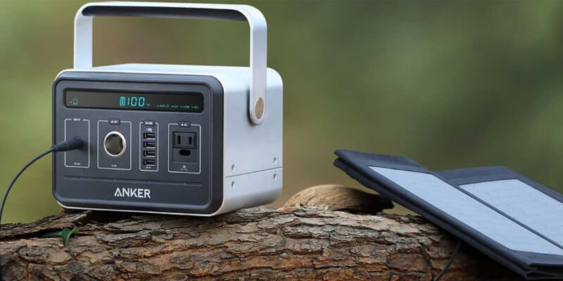 Anker PowerHouse with Solar Panel