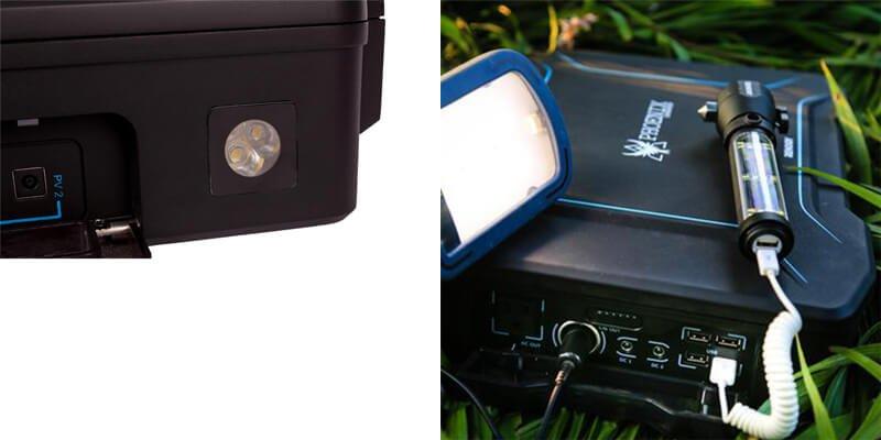 Renogy Phoenix Solar Generator Briefcase Features