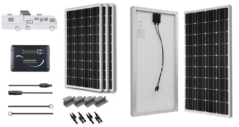 Renogy RV Solar Panel Kit