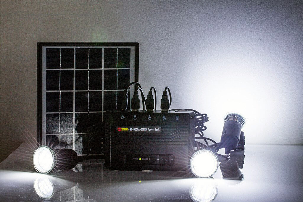 Solar Panel Light Kits