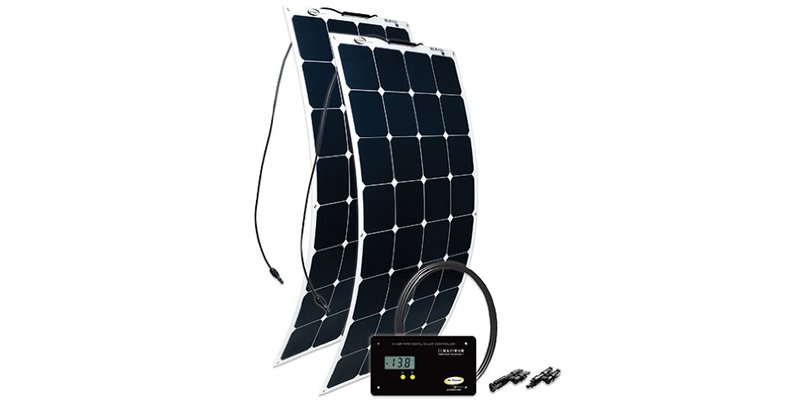 go power 200 watt flexible solar panel kit