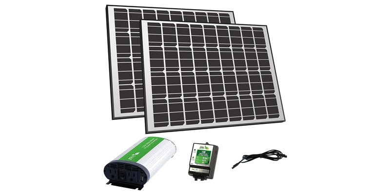 nature power 170 watt solar panel kit