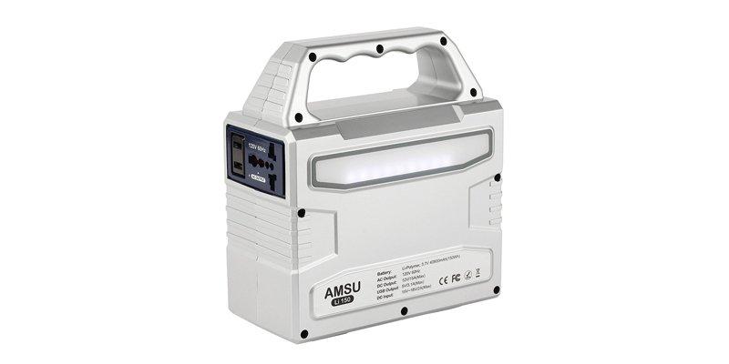 AMSU 100-watt Portable Solar Generator
