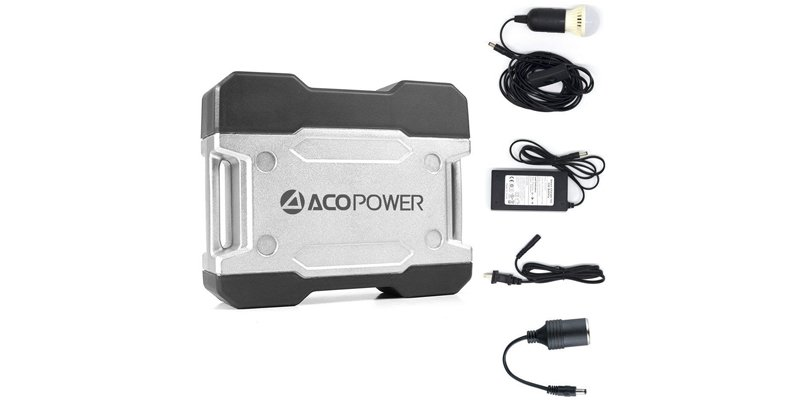 Acopower 111Wh Compact Solar Generator