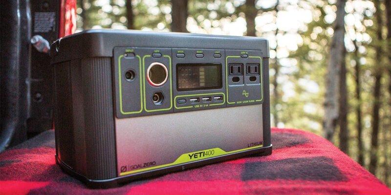 Goal Zero Yeti 400 Lithium Solar Generator Review