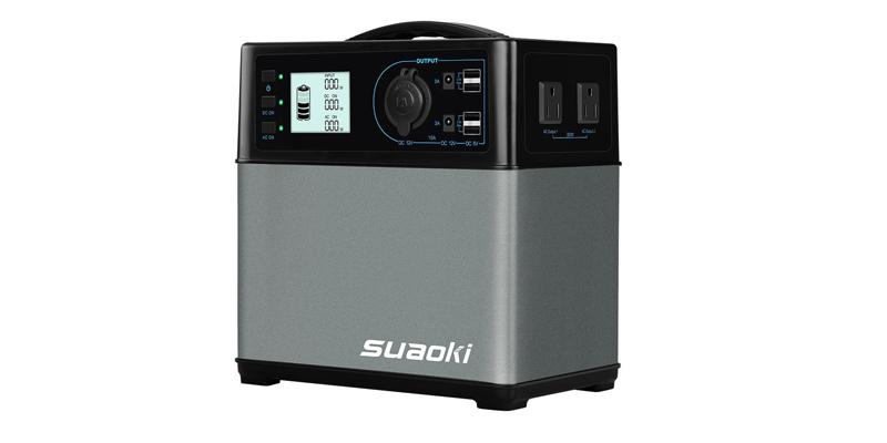 Suaoki 400Wh120,000mAh Portable Solar Generator