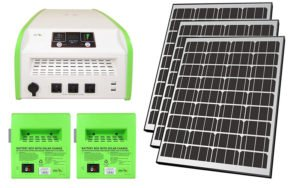 Best Emergency Solar Kit by Nature Power