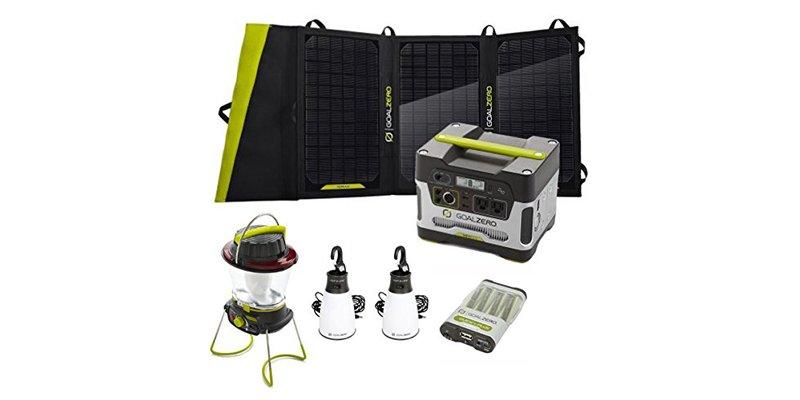 Goal Zero Camping Base Camp Solar Essentials Kit