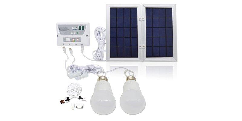 LumiUP 4.5W Home Solar Lighting System