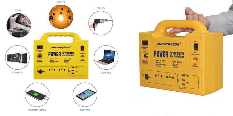 Monerator Gusto 10 Solar Generator