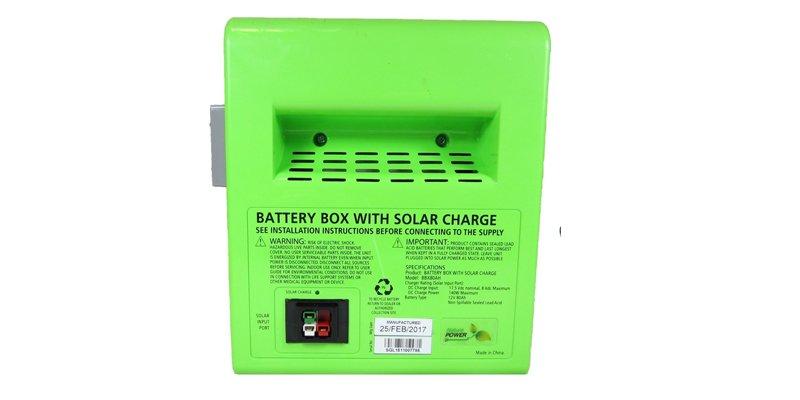 Nature PowerPak 1800-Watt Portable Solar Generator Battery Box