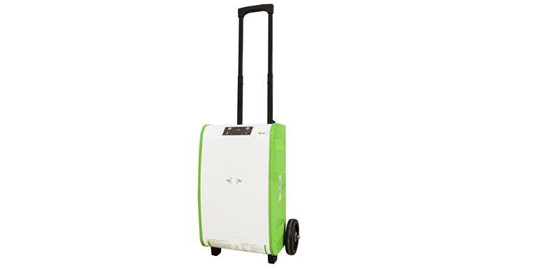 Nature PowerPak 1800-Watt Portable Solar Generator Cart