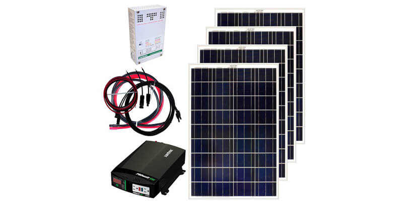 grape solar 400w off-grid solar kit