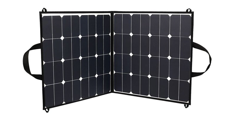 BZBRLZ 100W Portable Foldable Solar Panel Charger