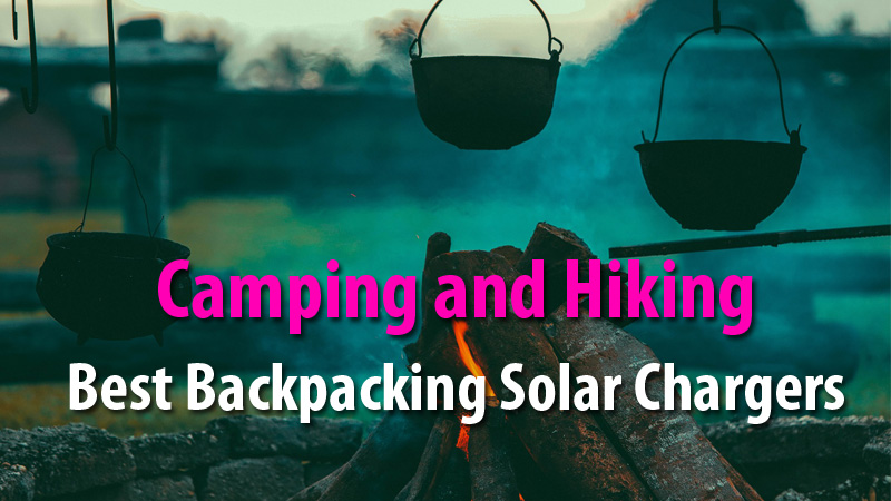 Best Backpacking Solar Chargers