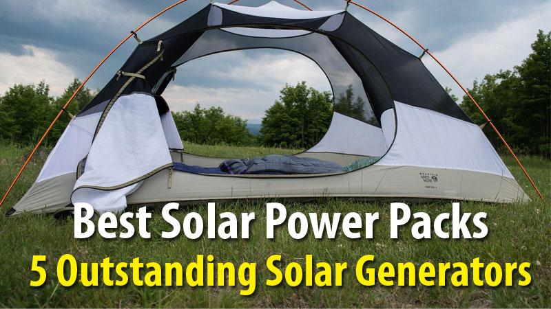 Best Solar Power Packs