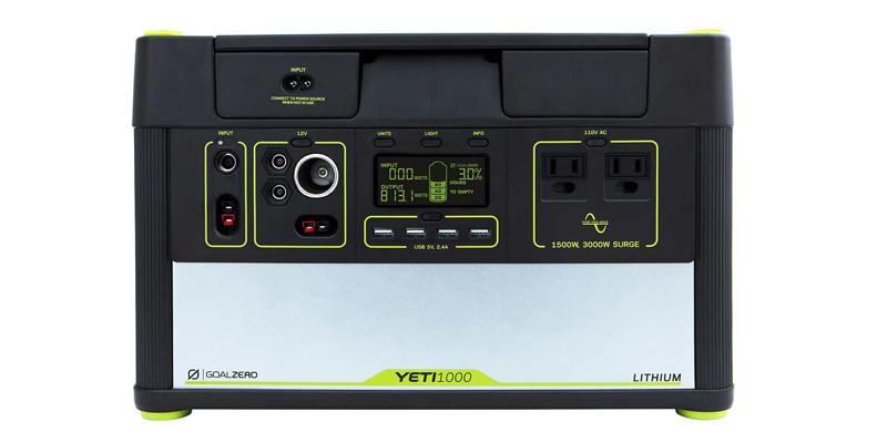 Goal Zero Yeti 1000 Lithium Costco Solar Generator