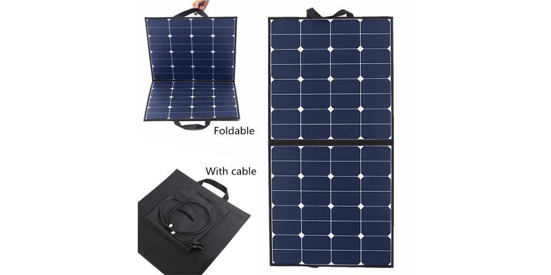MOHOO 100-watt Bendable Foldable Solar Panel