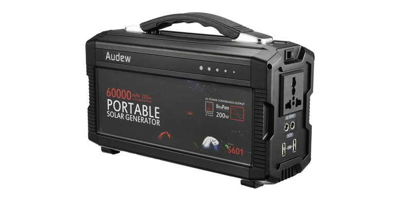 Audew 200Wh Solar Power Pack