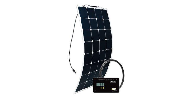 Go Power! 100W Flexible Mono Solar Kit