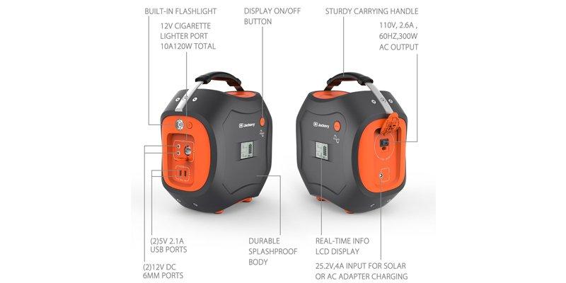 Jackery PowerPro Portable Generator