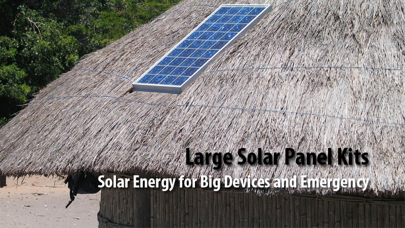 Large Solar Panel Kits