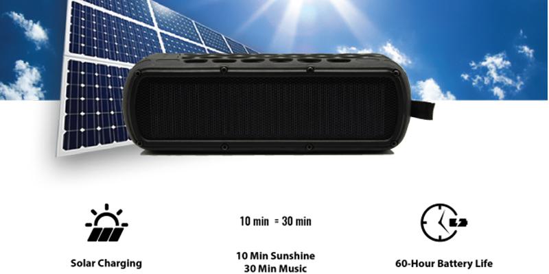 SolarBox Solar Speaker