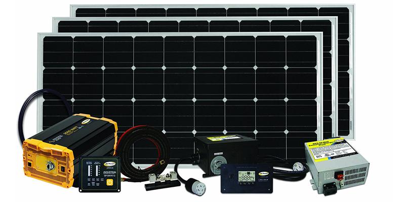 go power solar extreme 480-watt solar kit