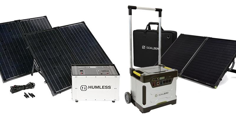 Goal Zero Yeti 1250 Kit Vs Humless 1.3kWh Solar Generator Kit