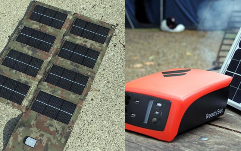 Portable Solar Power Kits Camping