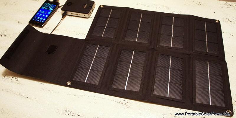 PortableSolarPower.Biz 12W Pocket Solar Charger