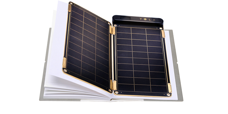 YOLK Solar Paper + Portable Solar Charger