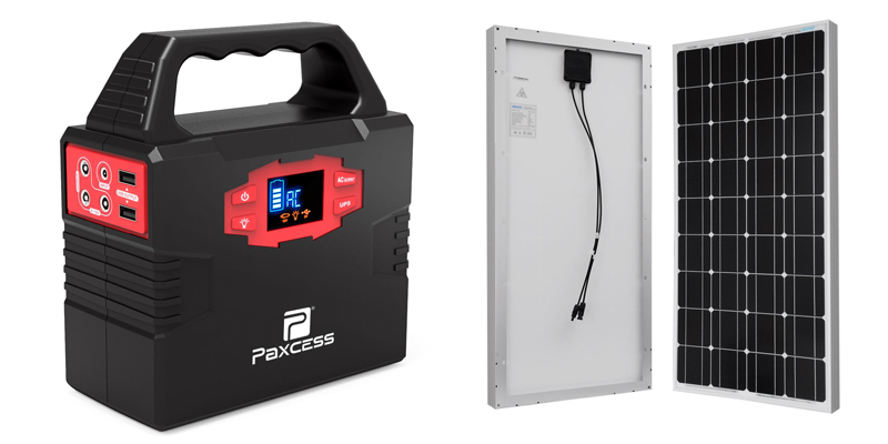paxcess 100-watt portable generator