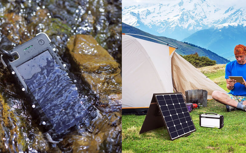 Solar Power Portable Chargers